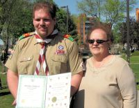 Medal of the Maple for Matt Darbyson 2012 held in Welland